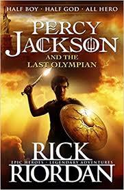 Percy Jacson Book 5 poooooooo